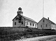 Picture of Portsmouth School Found in 1896 The Granite Monthly
