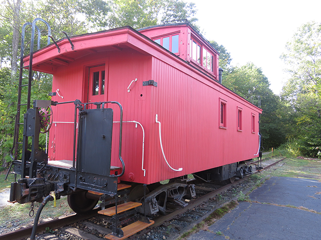 Grant to Historical Society Will Support Caboose Repair