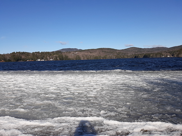 It's Official – Ice-Out Called  on Highland Lake on March 27