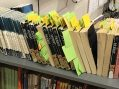 Notes Mark Pages of Books Left Untouched Since March