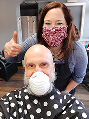 Mane Street Salon Re-Opens Under Strict New Rules