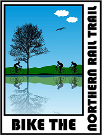 """Bike The Northern Rail Trail"" Helps Visitors Enjoy the Trail"