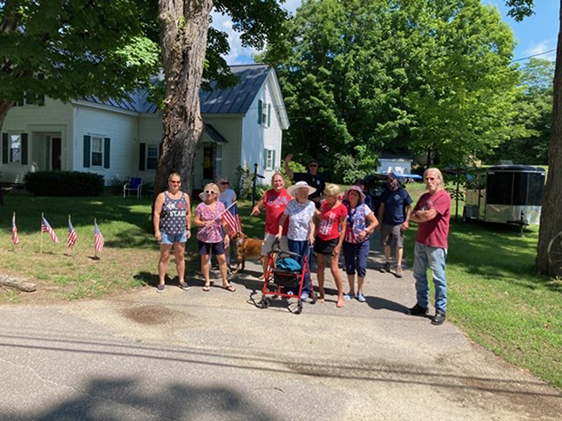 Two Impromptu Parades Liven Up a Quiet Fourth of July in Andover