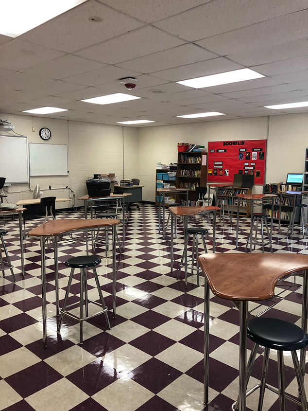 There Won't Be Group Seatings in Fall Classrooms Setup