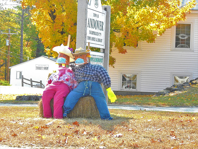 More Scarecrows Around Andover – 2