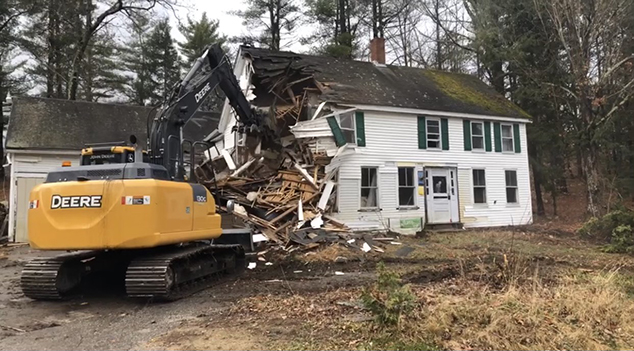 Derelict House on Main Street Has Been Demolished