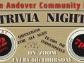 """Join the Fun with the Third """"Andover Trivia Night"""""""