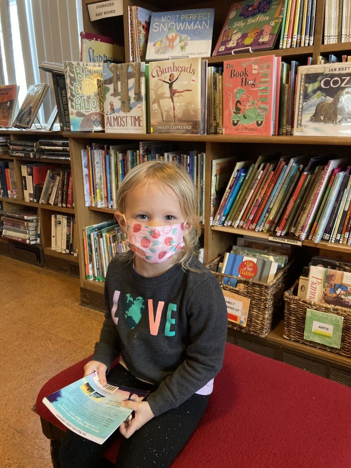 Four-Year Old Meets 1,000 Book Reading Challenge
