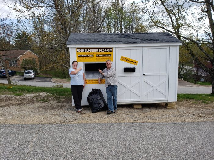 Clothing Shed Awaits Donations from Community