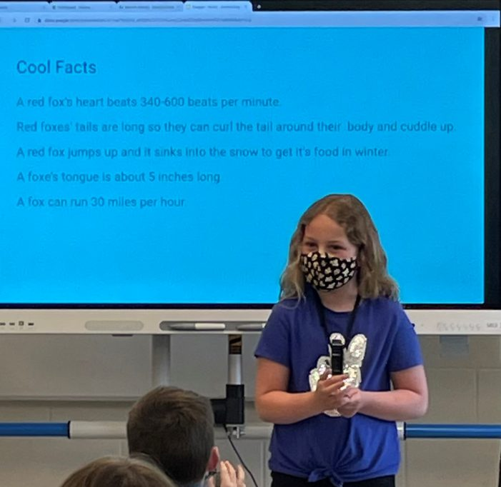 Research Project Teaches Second Graders Many Skills
