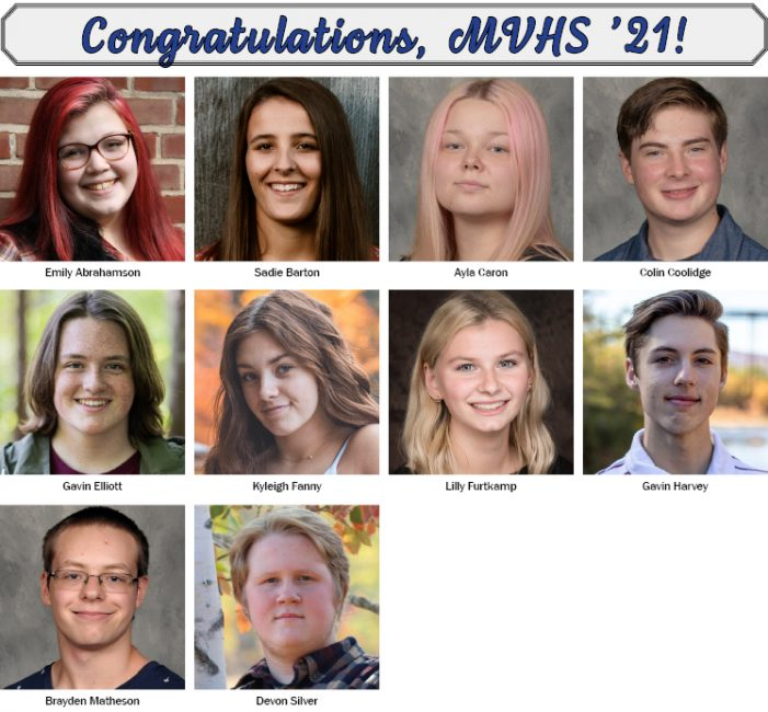 MVHS Graduates 10 from Andover
