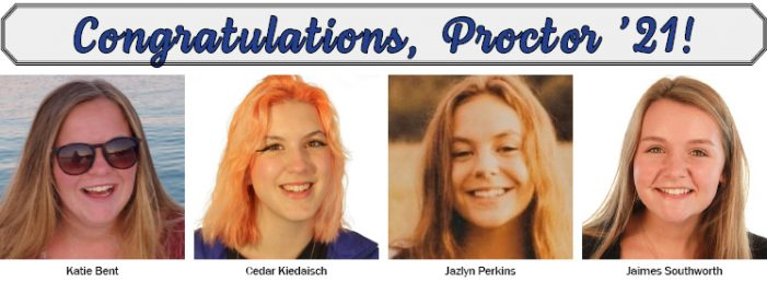Proctor Graduates Four from Andover