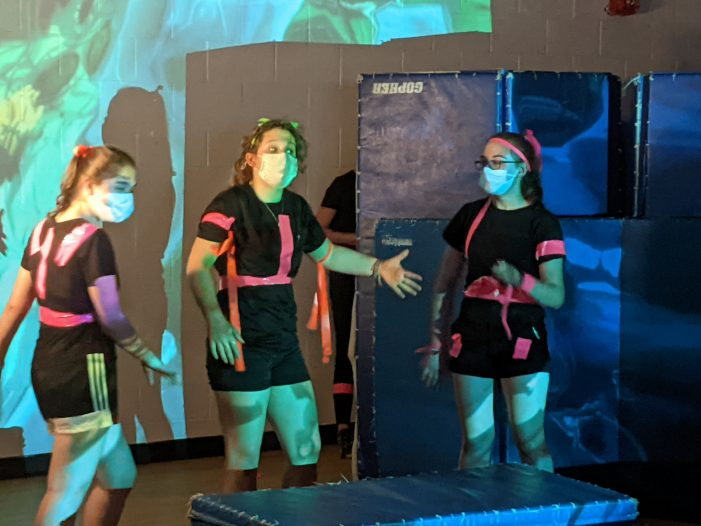 AE/MS Eighth Grade Class Writes and Performs a Play About Cell Growth