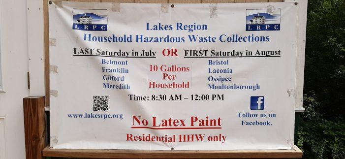 LRPC Organizes Household Hazardous Waste Collection Days