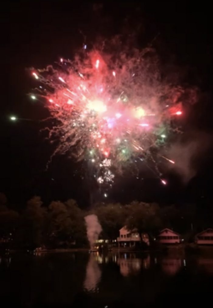 Andover's 79th Annual Fireworks Display Entrances Crowd