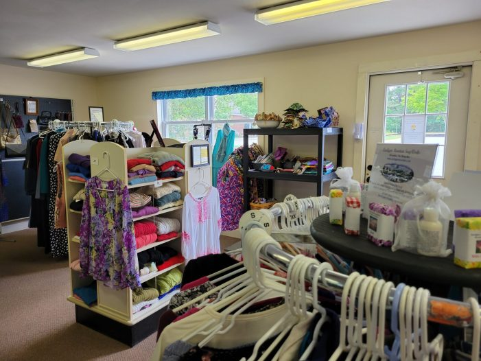 Andover Thrift and Gift Shop Resumes Regular Hours