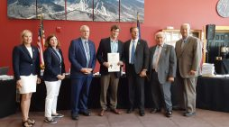 Former Head of School Mike Henriques Receives Award from Governor