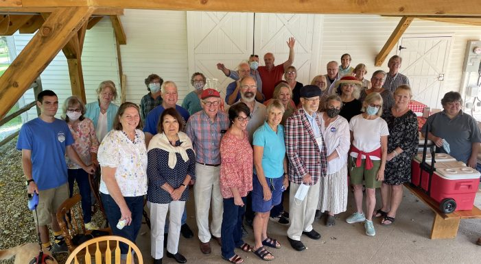 Andover Democrats' First Ice Cream Social Draws Large Crowd