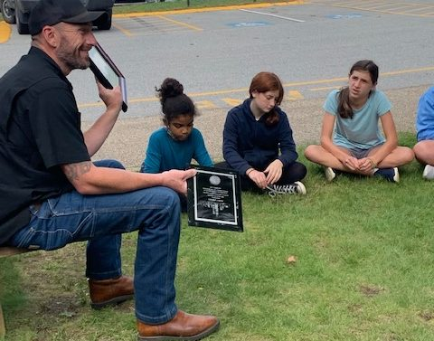 September 11 First Responder Speaks With Students