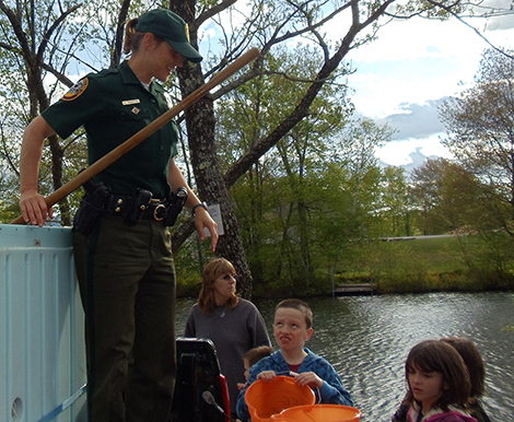 Andover fish and game spring trout derby the andover beacon for Nh fish game