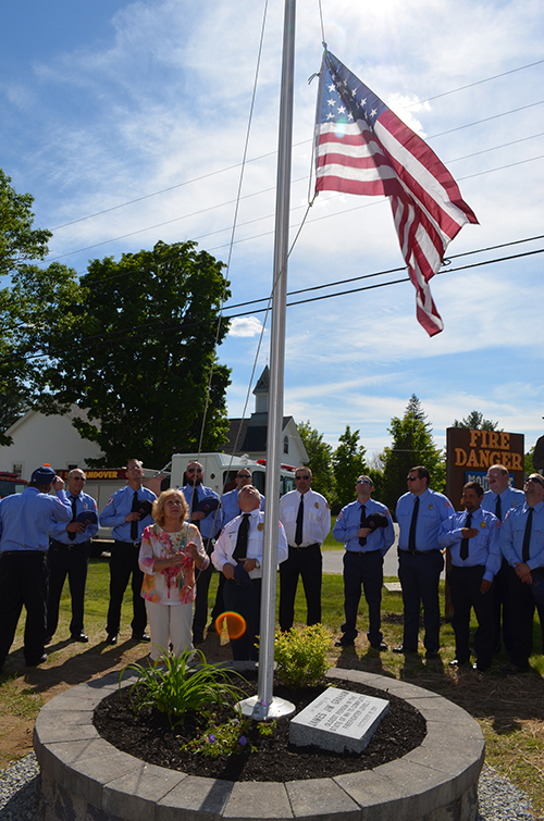 Afd and andover ems dedicate new flag pole to jim graham the afd and andover ems dedicate new flag pole to jim graham sciox Image collections