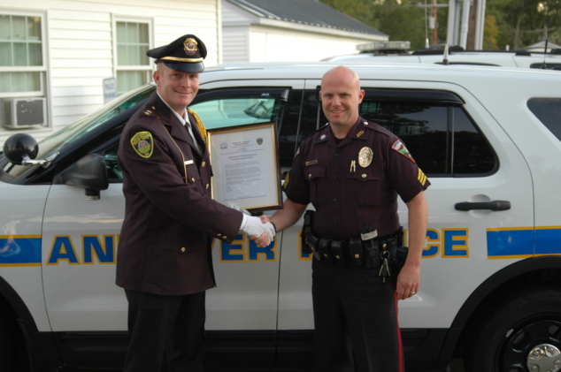Joe Mahoney Receives Commendation for Help in Investigation | The