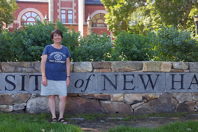 Nicole Donovan was named to the Dean's List at the University of New Hampshire for the spring semester of the 2015-2016 academic year, earning Highest Honors. Highest Honors are awarded to students who earn a semester grade point average of 3.85 or better out of a possible 4.0. Nicole, an Andover mother of four and per diem phlebotomist in the lab at New London Hospital, is working on her Bachelor of Science degree in Biomedical Science: Medical Laboratory Science.