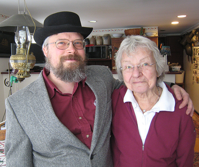 Jesse Schust is stepping up as Andover Historical Society president as Pat Cutter steps down. Photo: Helen Wickham